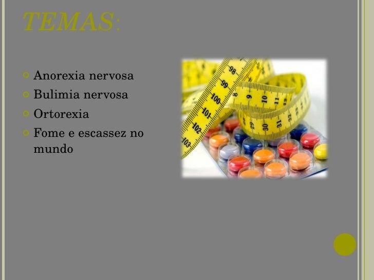 Disturbios alimentares  Slide 2