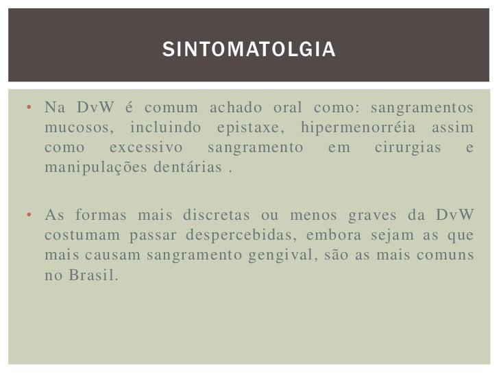 DIAGNOSTICO A definição do tipo e do subtipo da doença é  fundamental para orientação terapêutica adequada.  Primeirament...