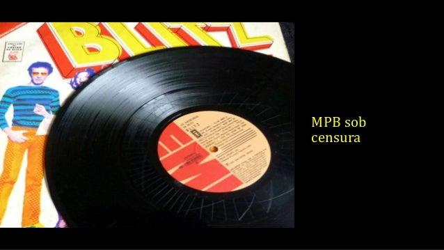 MPB sob censura