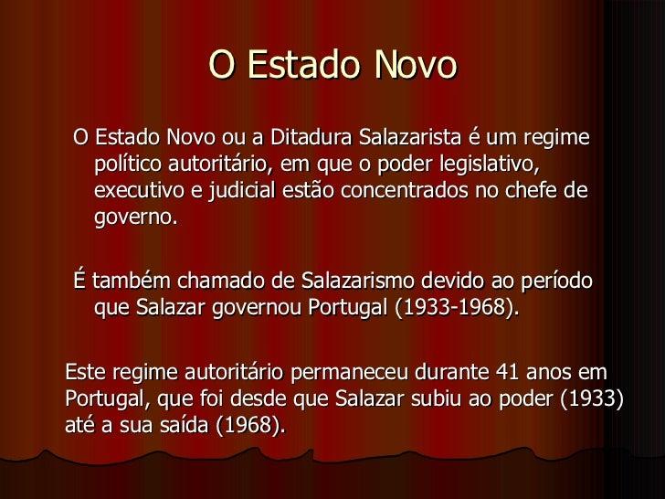 Ditadura Salazarista Slide 2