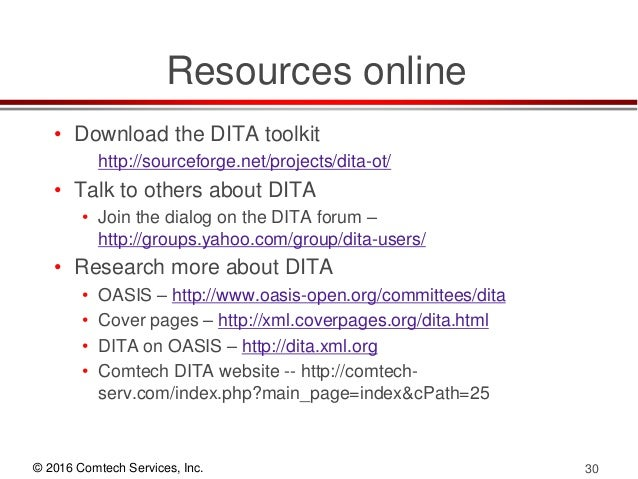 what are the strengths and weaknesses of dita adoption rh slideshare net