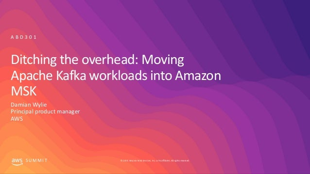 Ditching the overhead - Moving Apache Kafka workloads into