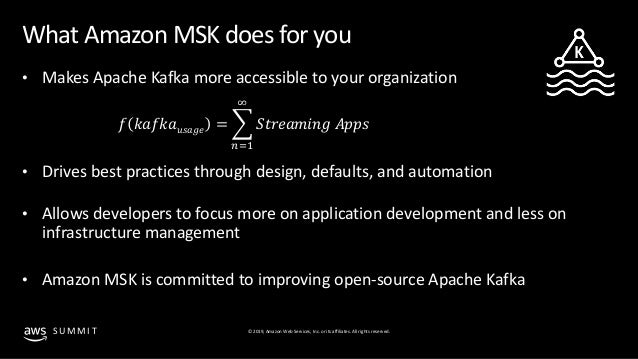 Ditching the overhead - Moving Apache Kafka workloads into Amazon MSK…