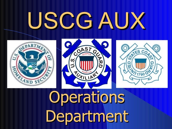 USCG AUX Operations Department