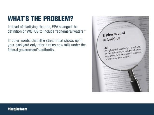 Tell Congress: Ditch WOTUS Slide 3