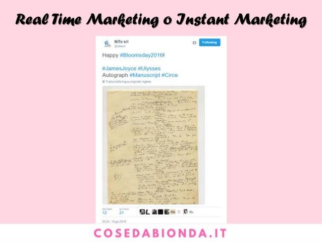 Conclusioni #1. Il Blog non interrompe, attira, aiuta, converte visitatori in clienti e promotori #2. Da un marketing di t...