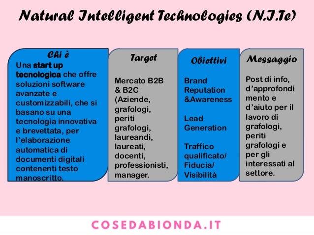 Natural Intelligent Technologies (N.I.Te)