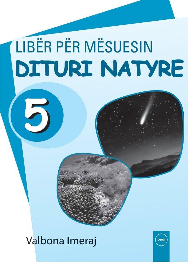 Valbona IMERAJ  Libër mësuesi DITURIA 5