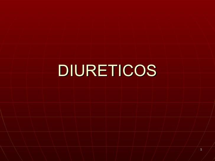 DIURETICOS             1