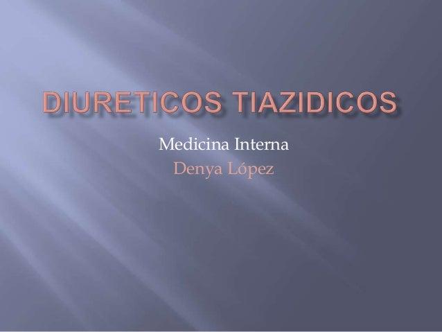 Medicina Interna  Denya López
