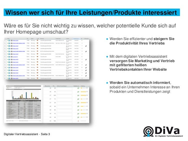 DiVa  -  Ihr Potential Slide 3