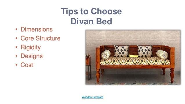 Divans Give Astonishing Look To Your Bedroom Wooden Furniture 2