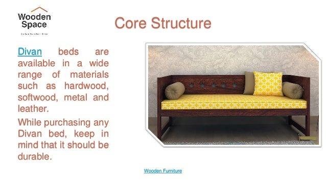 Wooden Furniture 4 Core Structure Divan Beds