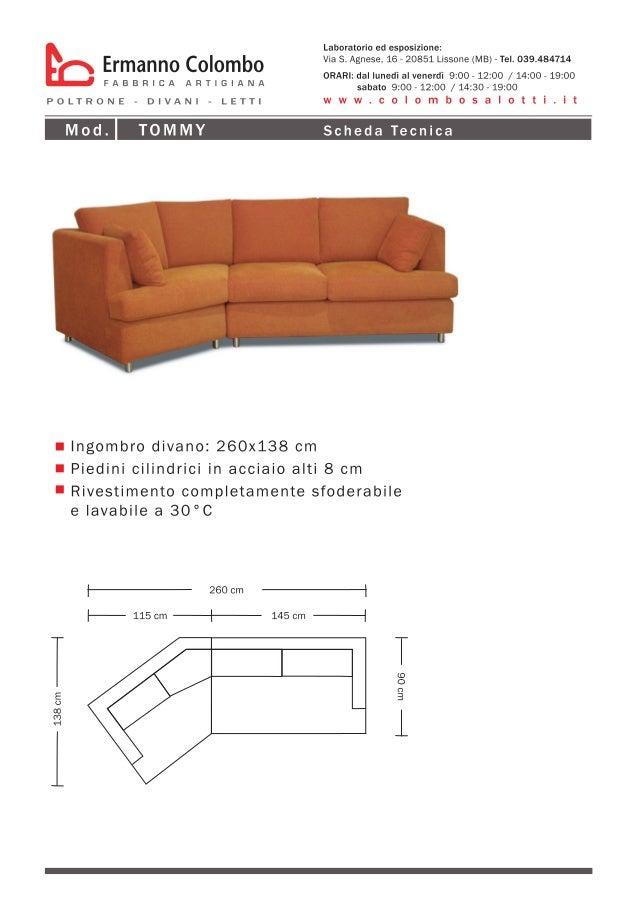 Catalogo divani componibili - ERMANNO COLOMBO - produzione e vendita …