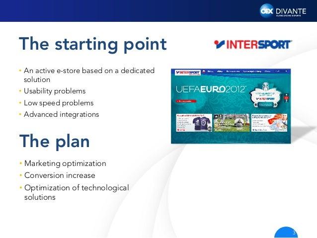 INTERSPORT e-Commerce with Divante Slide 3