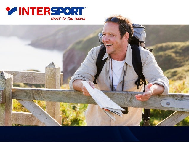 Intersport •INTERSPORT is the world's biggest sports equipment retail sales group, owning over 5400 stores in 40 countrie...