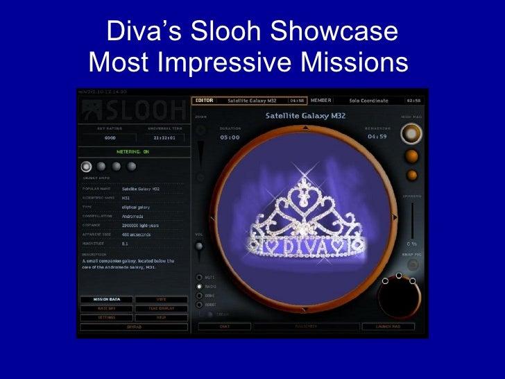 Diva's Slooh Showcase Most Impressive Missions