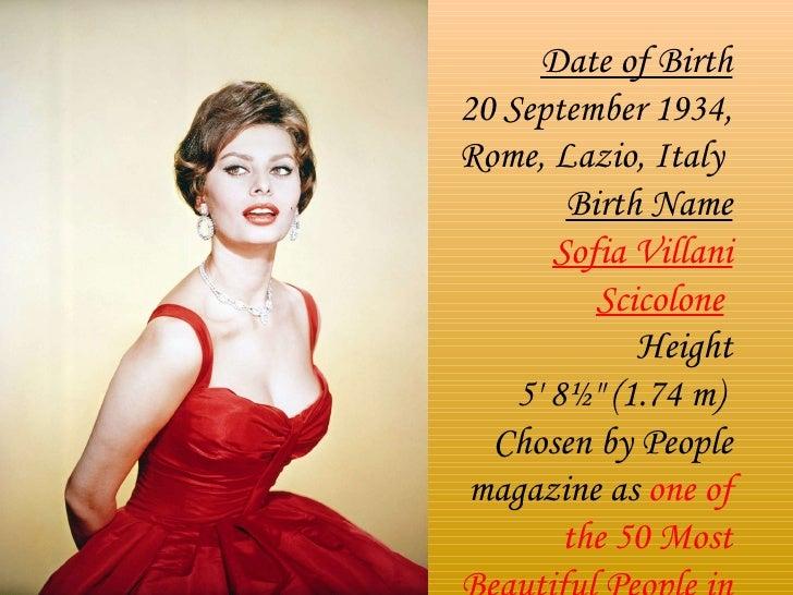 Diva Sofia Loren Slide 3