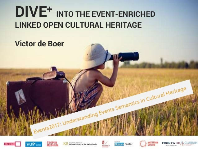 DIVE+ INTO THE EVENT-ENRICHED LINKED OPEN CULTURAL HERITAGE Victor de Boer