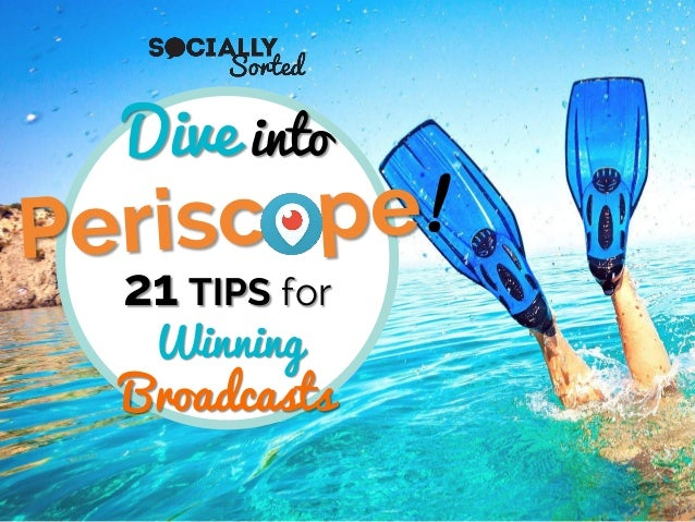 Dive into 21 TIPS for Winning Broadcasts