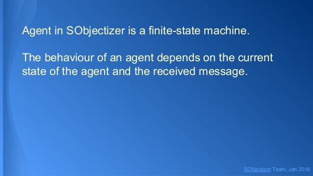 Dive into SObjectizer 5.5. Second part. States Slide 3