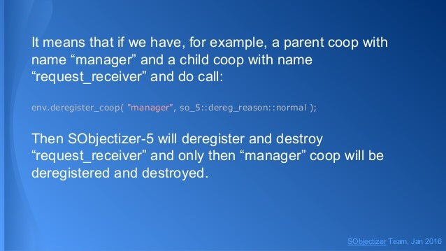 """It means that if we have, for example, a parent coop with name """"manager"""" and a child coop with name """"request_receiver"""" and..."""