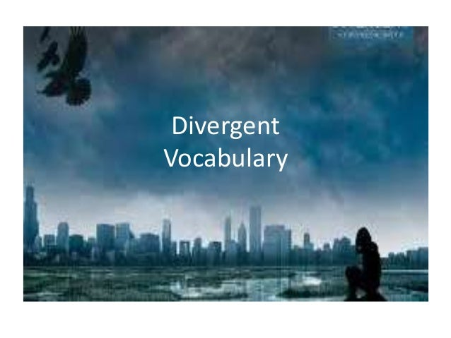 Divergent Vocabulary