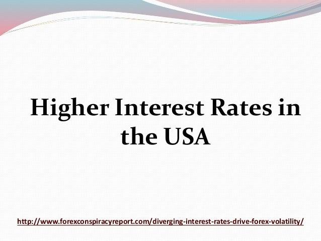 Interest rates forex