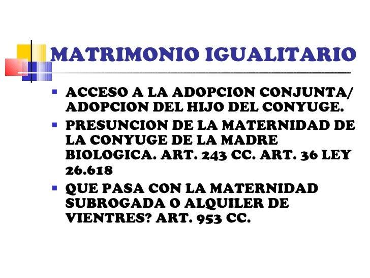 Matrimonio homosexual significado