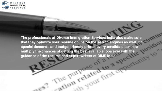 get the best of jobs with professionally written resume