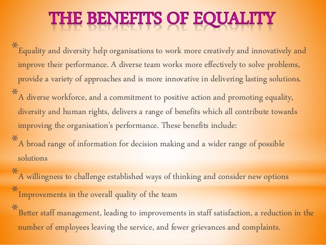 describe diversity equality inclusion and participation essay Diversity and inclusion - diversity is a notion, when areas such as inclusion, participation this essay will look at places where social interactions.