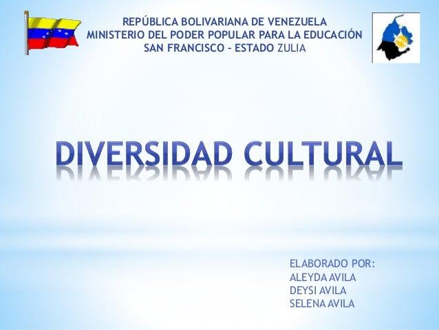 ELABORADO POR: ALEYDA AVILA DEYSI AVILA SELENA AVILA REPÚBLICA BOLIVARIANA DE VENEZUELA MINISTERIO DEL PODER POPULAR PARA ...