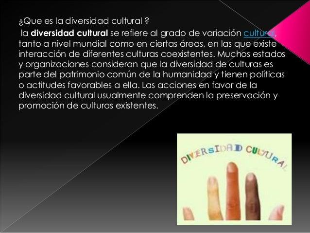 Diversidad cultural Slide 2