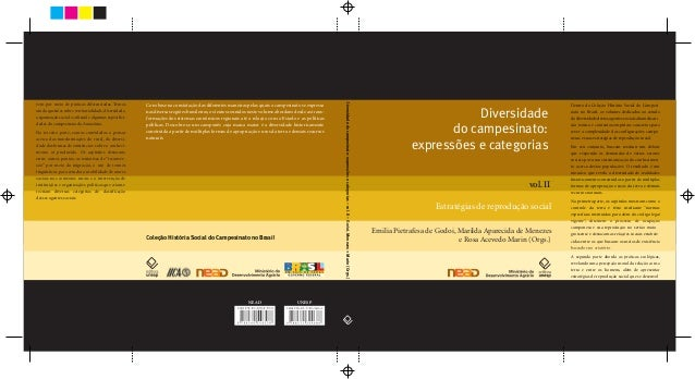 Diversidadedo campesinato:expressões e categoriasEmilia Pietrafesa de Godoi, Marilda Aparecida de Menezese Rosa Acevedo Ma...