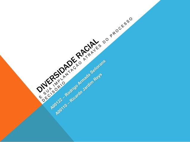 O processo decisório precisa levar em conta a diversidade cultural para que o clima organizacional de uma empresa não seja...