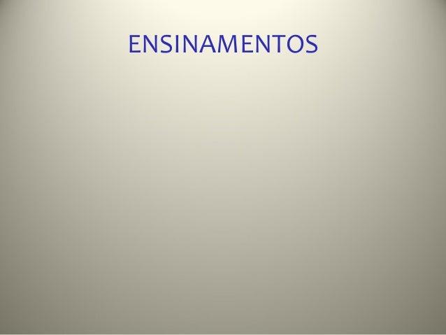 ENSINAMENTOS