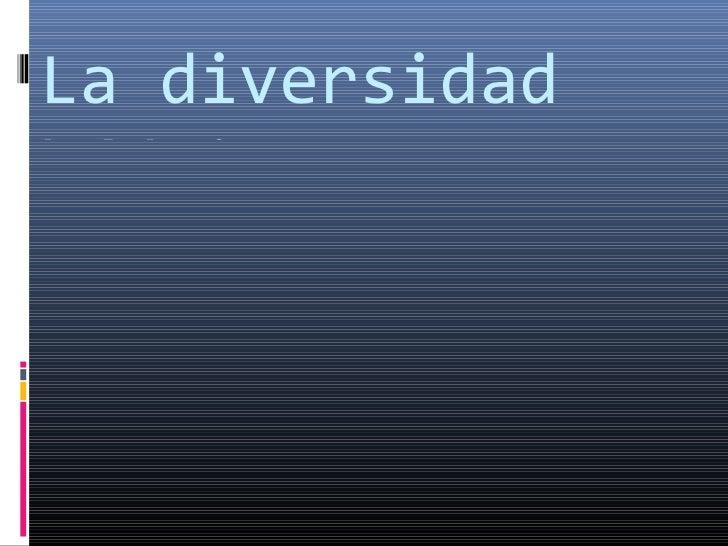 La diversidad hídrica y biogeográfica : Jaime Risquez  Gracia  1º L/ES Jacobo Lloret Bernad