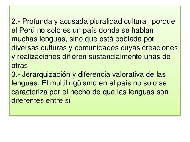 Diversidad lingüistica
