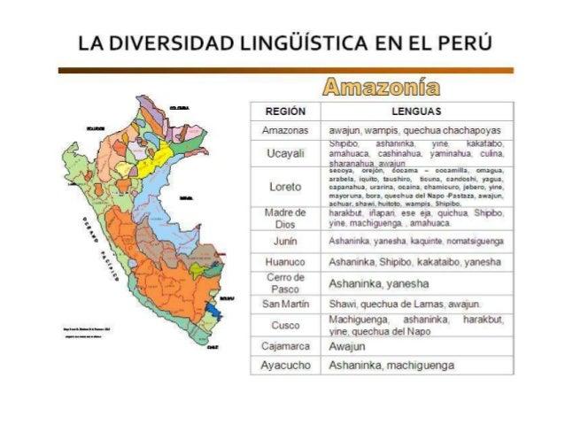 2.- Profunda y acusada pluralidad cultural, porque el Perú no solo es un país donde se hablan muchas lenguas, sino que est...