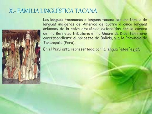 Diversidad lingüística en el perú