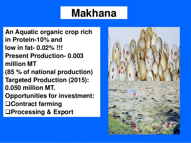 diversification of agriculture In agriculture, diversification may be viewed as a three-stage process [8] the first  stage is considered at the cropping level which involves a.