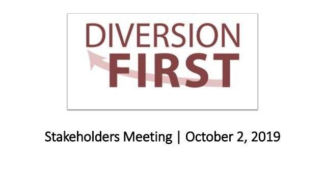 Stakeholders Meeting | October 2, 2019