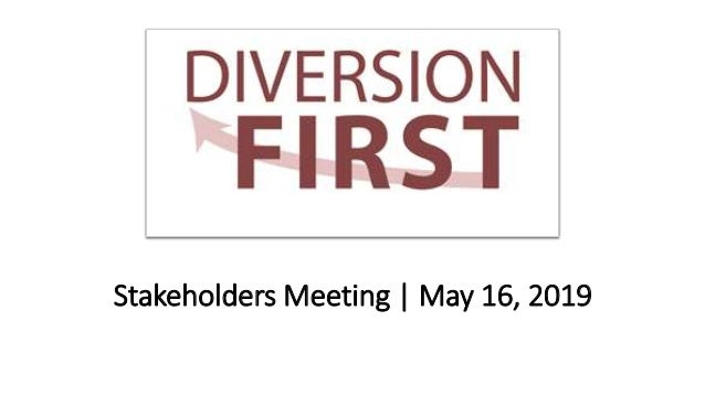 Stakeholders Meeting | May 16, 2019