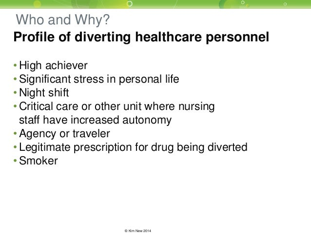 Drug Diversion Webinar Series #1: When Health Providers Steal, Patien…