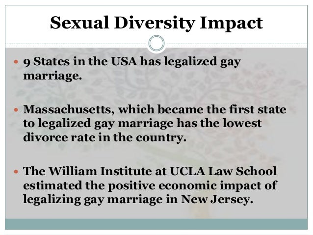 Economic impact of legalizing gay marriage