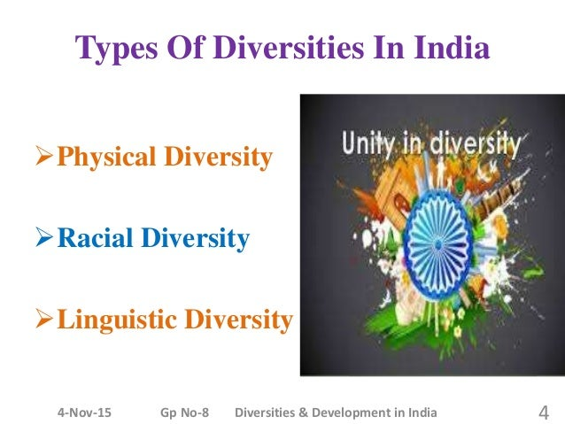 types of diversity in india