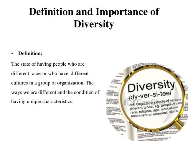 Diversity Meaning Workplace >> Diversity