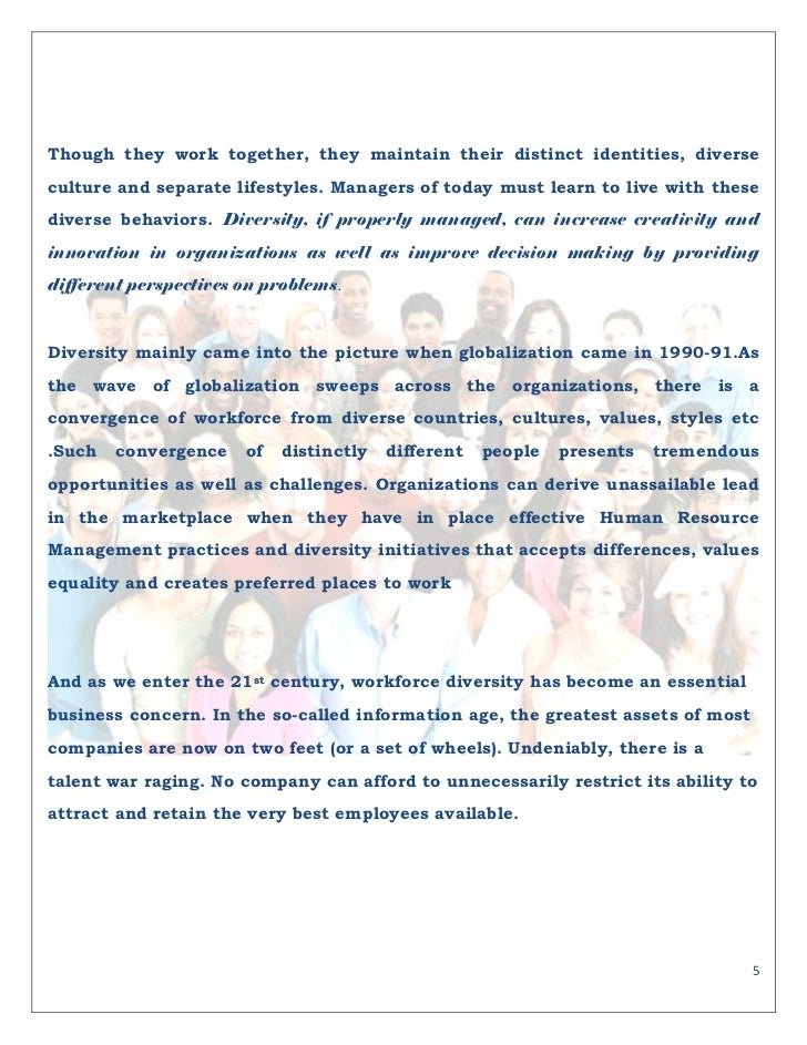 diversity and globalization essay Keywords: globalisation effects workplace, international business culture the  ability to conduct business internationally is an absolute.