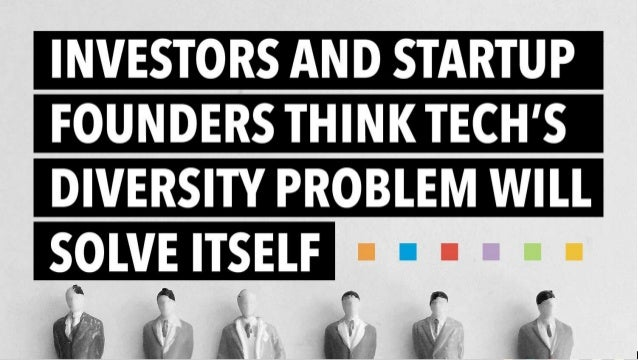 Investors and startup founders think tech's diversity problem will solve itself