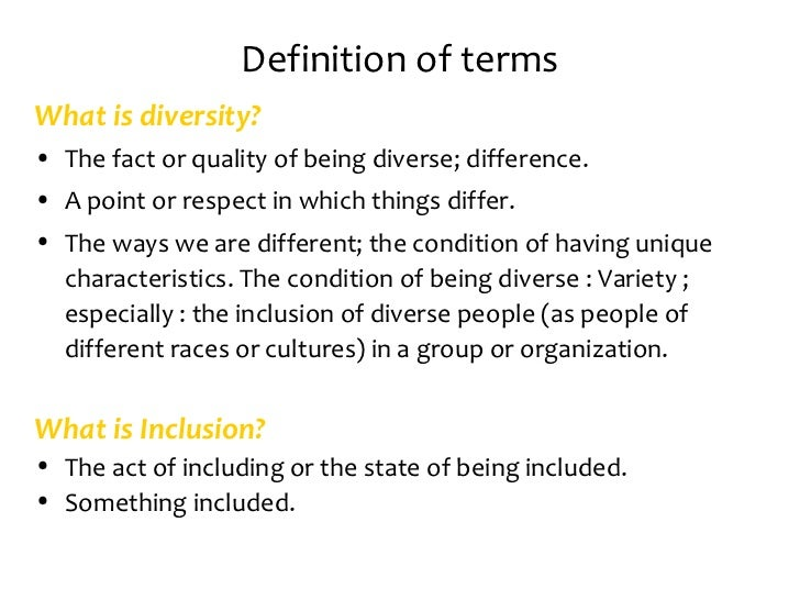 inclusion and diversity 2 essay